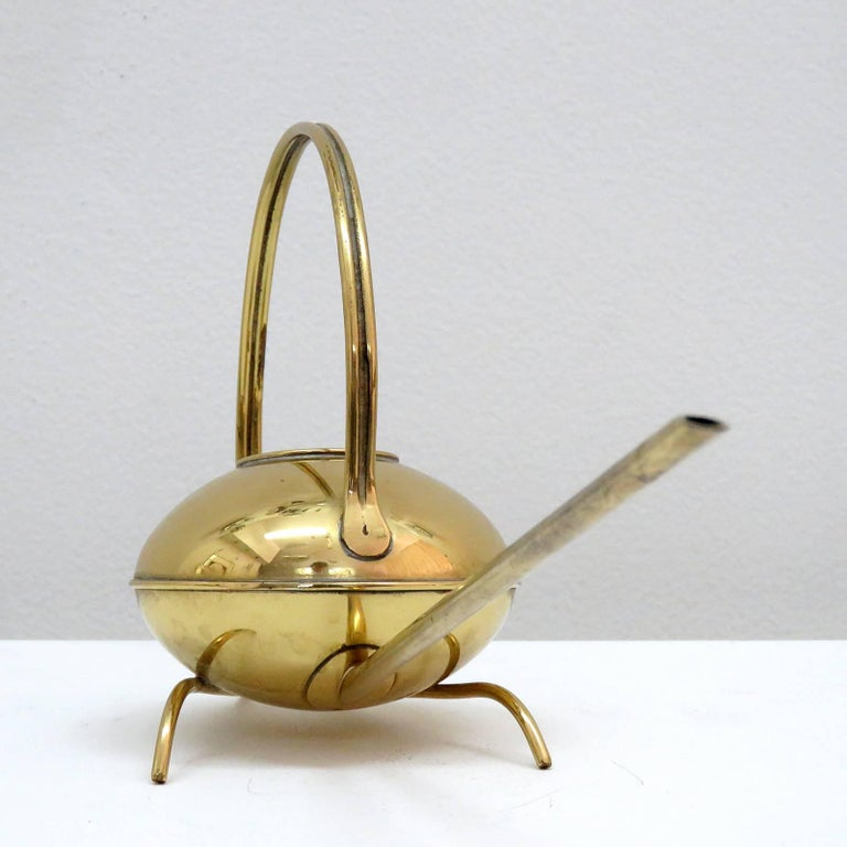 German Brass Watering Can, 1960 7