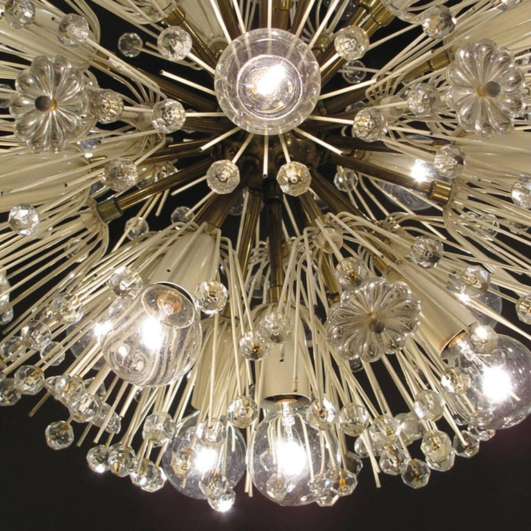 Emil Stejnar Chandelier In Excellent Condition For Sale In Los Angeles, CA