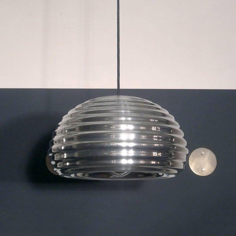 Space Age Achille Castiglioni Splügen Brau Pendant Lights For Sale