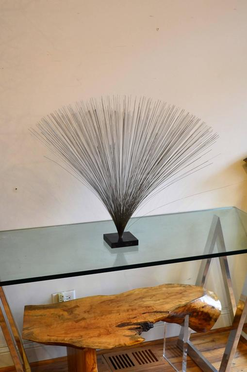 Mid-Century Modern  Spray Sculpture Attributed to Harry Bertoia For Sale