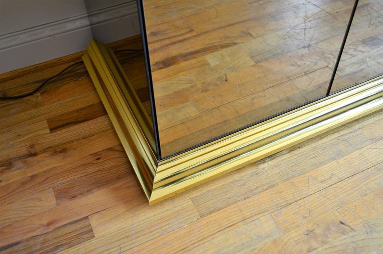 American Mirrored Ello Credenza For Sale