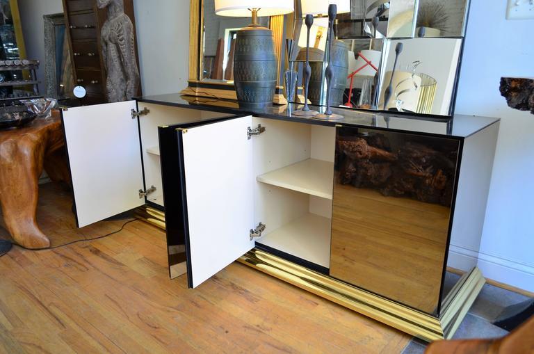 Mirrored Ello Credenza For Sale 3