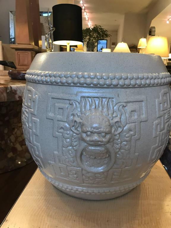 Chinese Style Ceramic Garden Stool Or Side Table For Gumps