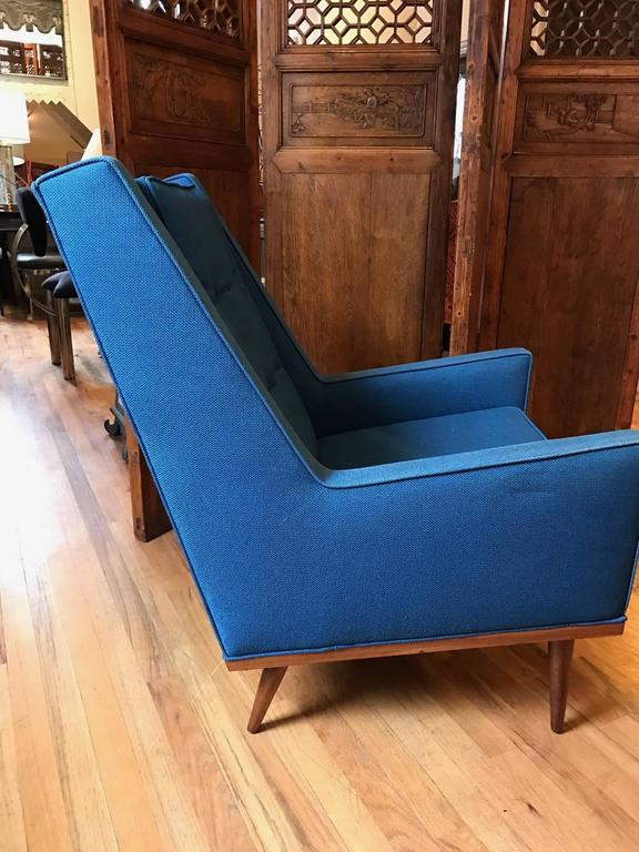 Milo Baughman King Armchair For James Inc For Sale At 1stdibs