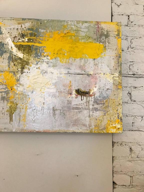 Late 20th Century Abstract Oil Painting For Sale
