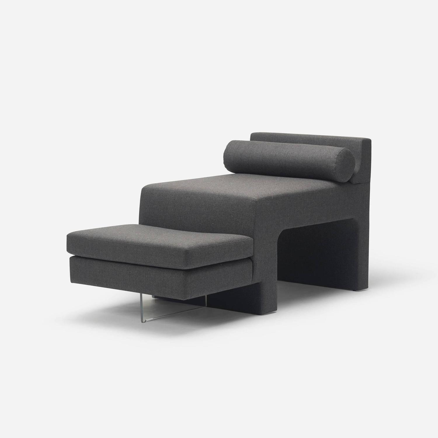 Omnibus chaise lounge by vladimir kagan for vladimir kagan for Chaise interiors inc
