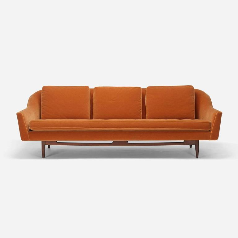 sofa  model 2516 by jens risom for jens risom design  inc adrian pearsall sofa craigslist adrian pearsall sofa ebay