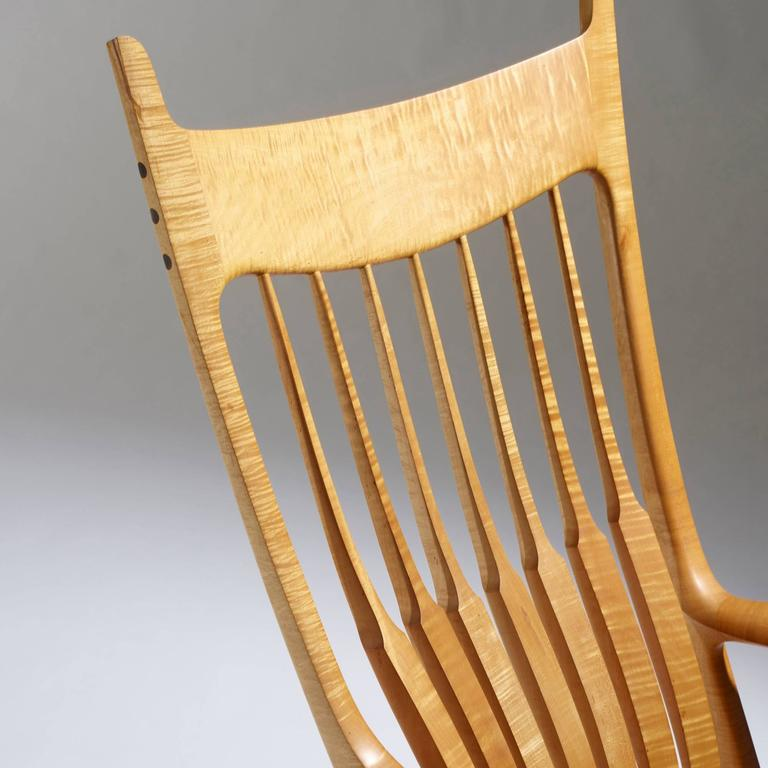 American Exceptional Rocking Chair by Sam Maloof For Sale