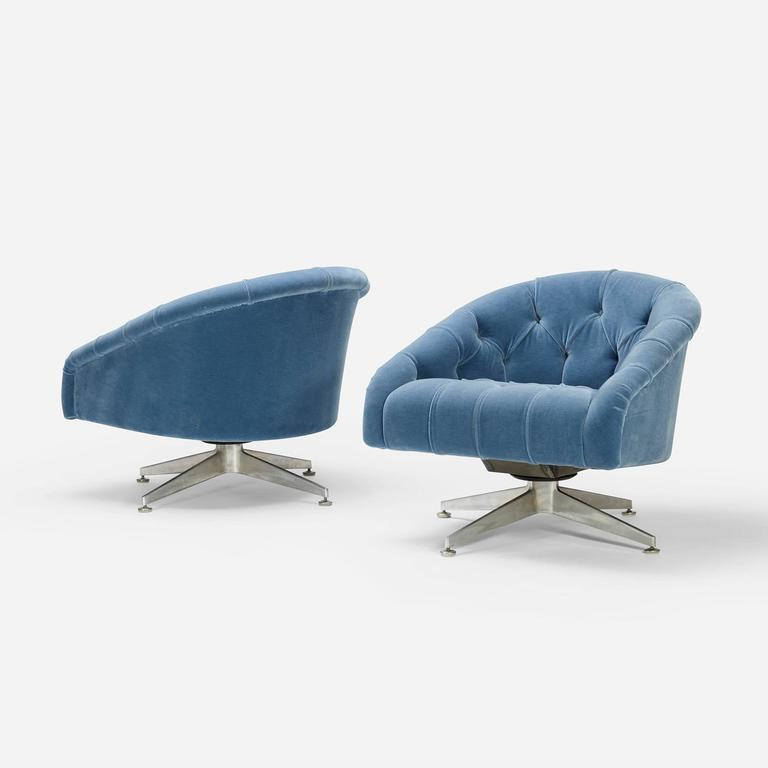 Lounge Chairs by Ward Bennett for Lehigh Furniture 2