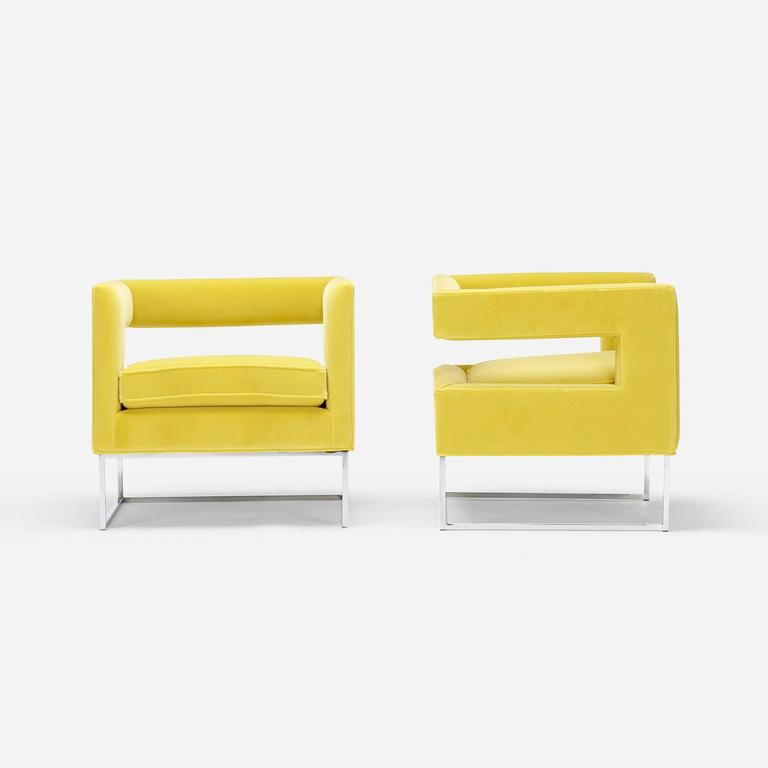 Lounge Chairs by Milo Baughman for Thayer Coggin 2