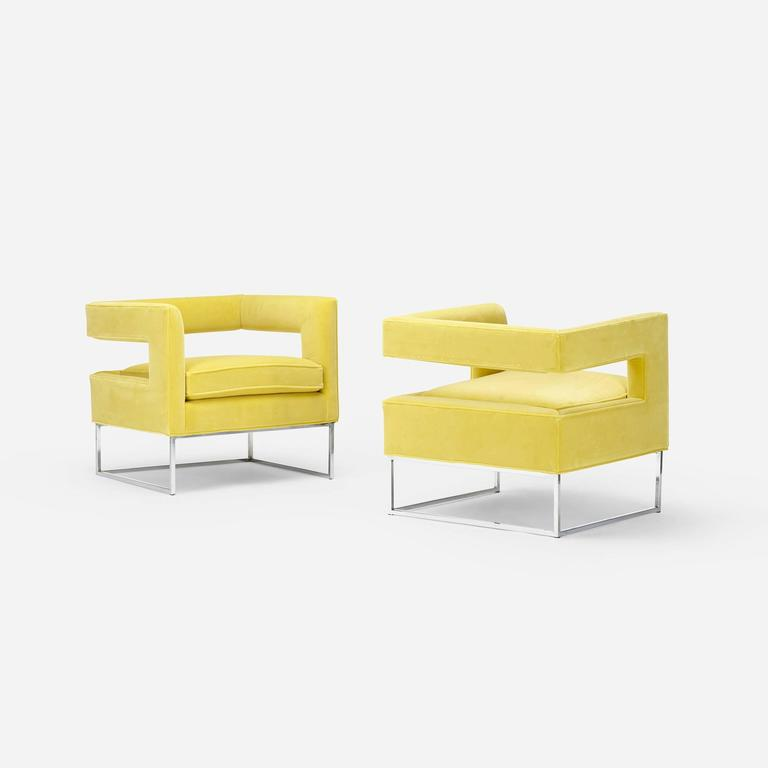 Lounge Chairs by Milo Baughman for Thayer Coggin 3