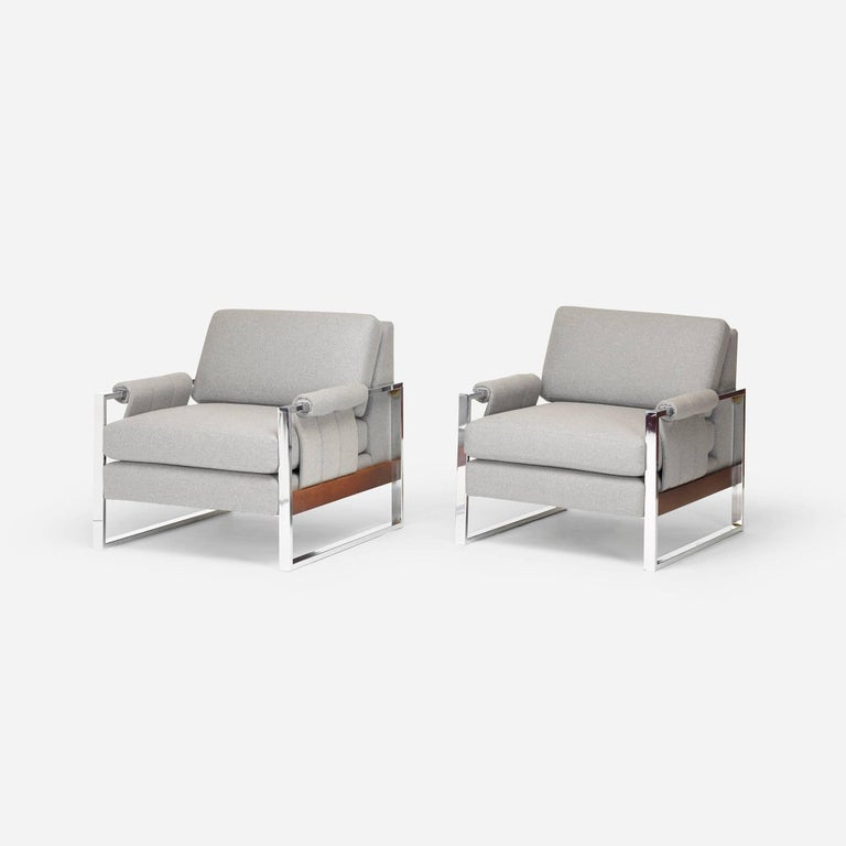 Pair of American Lounge Chairs 2