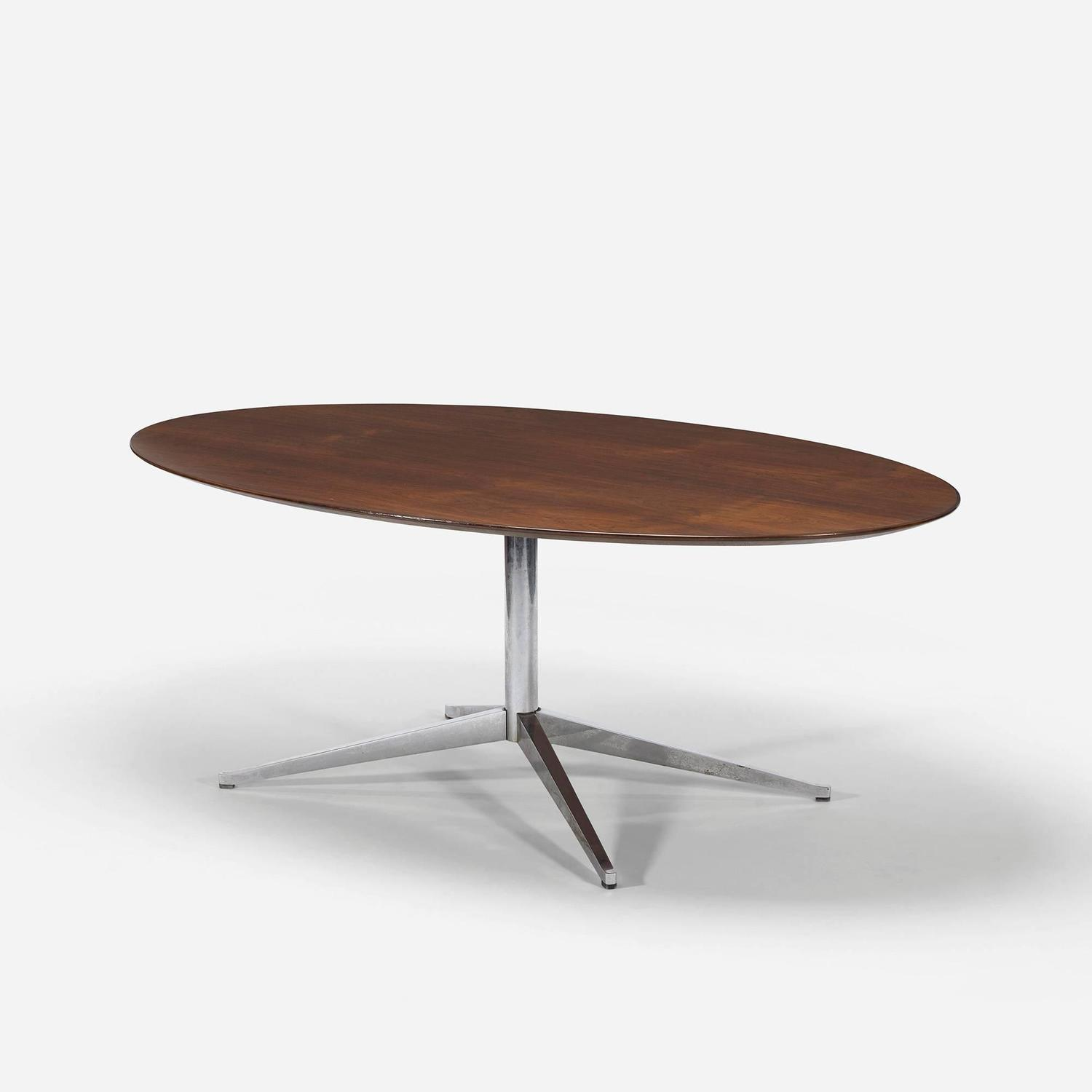Dining table by florence knoll for knoll associates at 1stdibs for Knoll and associates