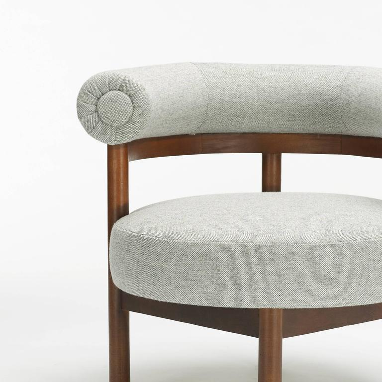 Modern Lounge Chair And Ottoman At 1stdibs