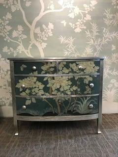 Dresser with Gracie Wallpaper