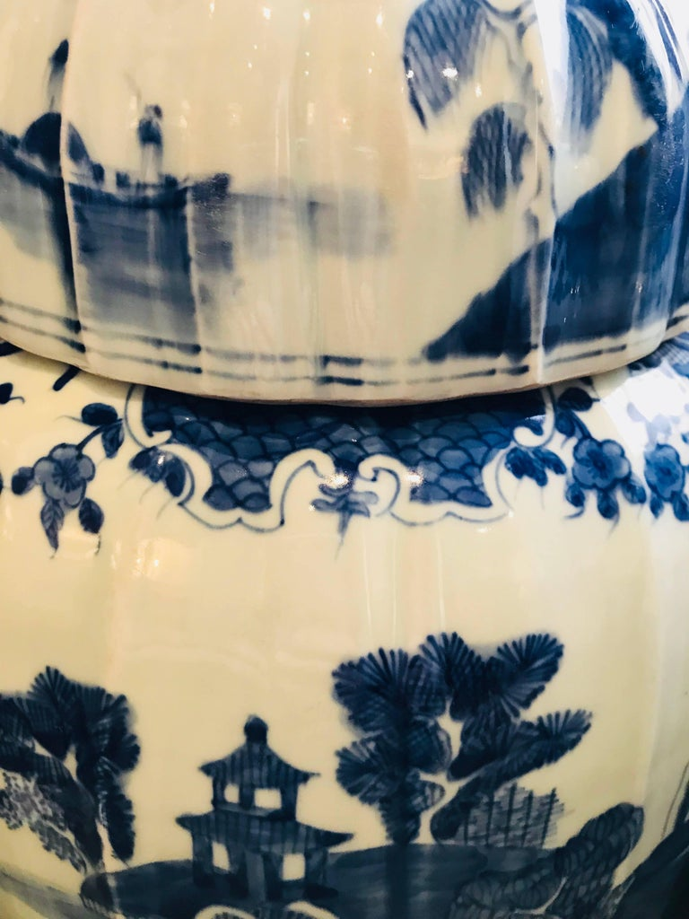 Pair of Large Covered Jars 7