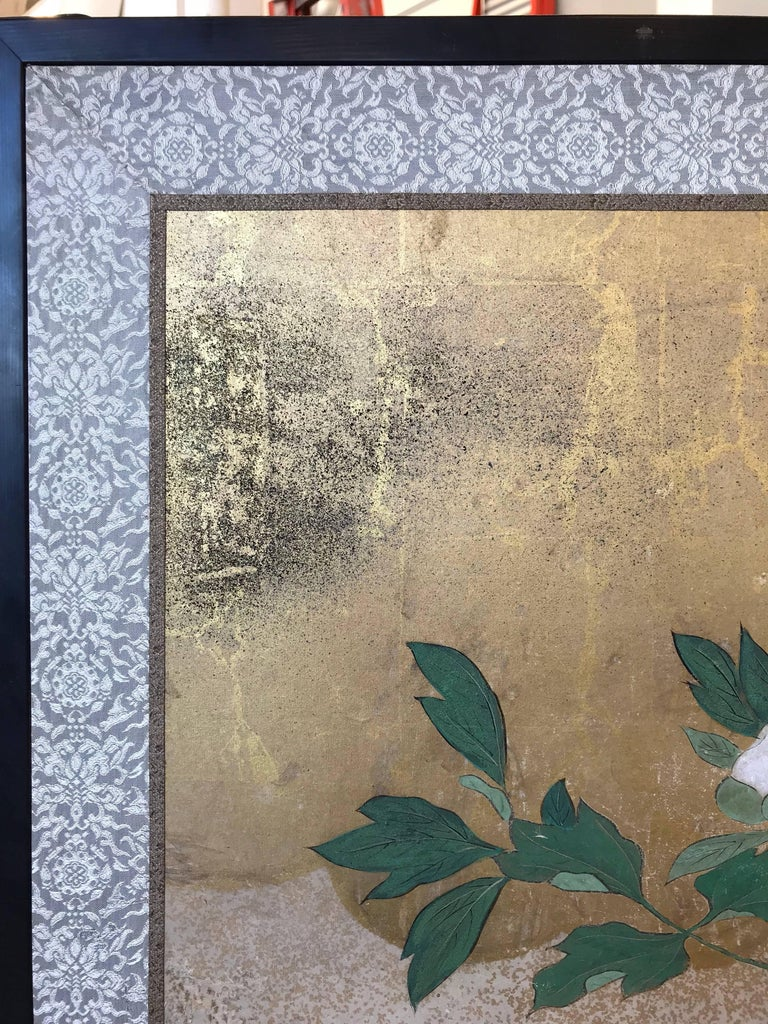 Six-Panel Japanese Screen For Sale 2