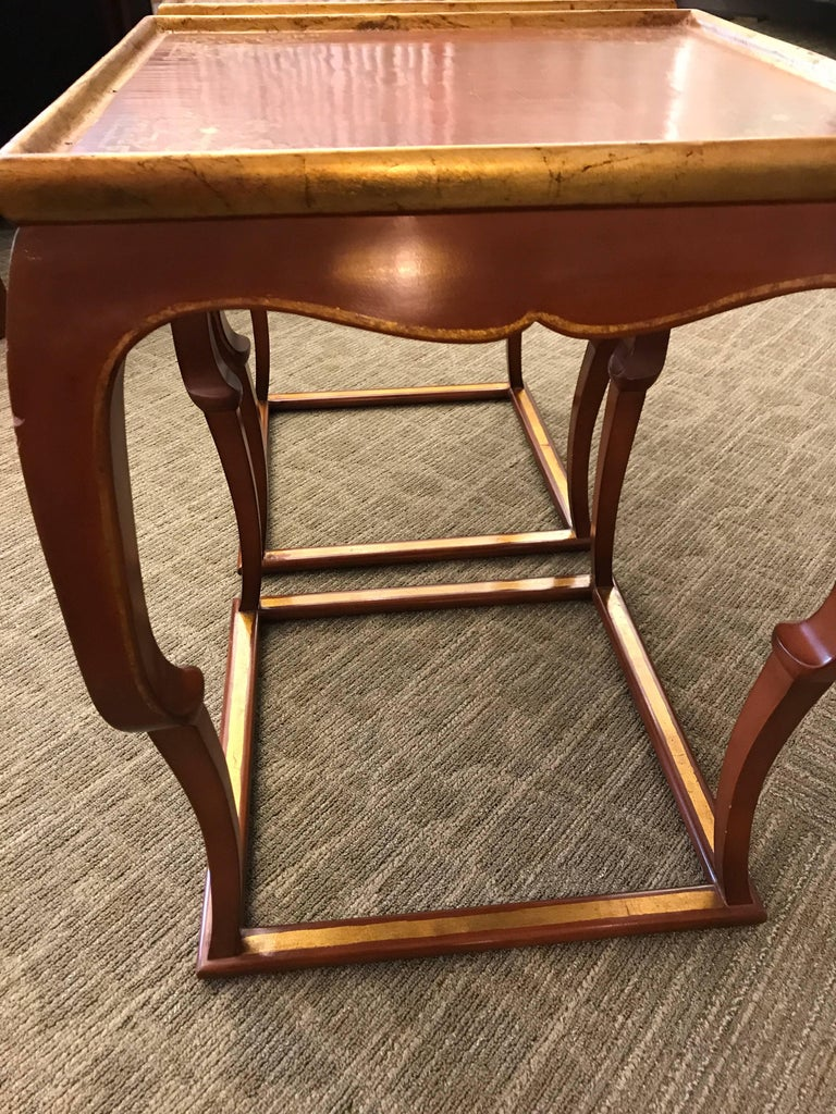 Pair of Chinoiserie Side Tables In Good Condition For Sale In New York, NY