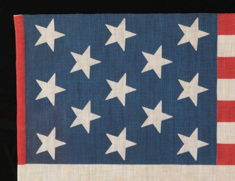 13 Star Parade Flag, Unusually Large Among Its Known Counterparts 3