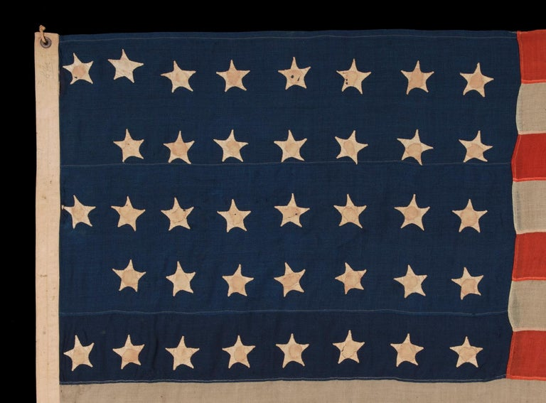 38 Hand-Sewn Stars In A