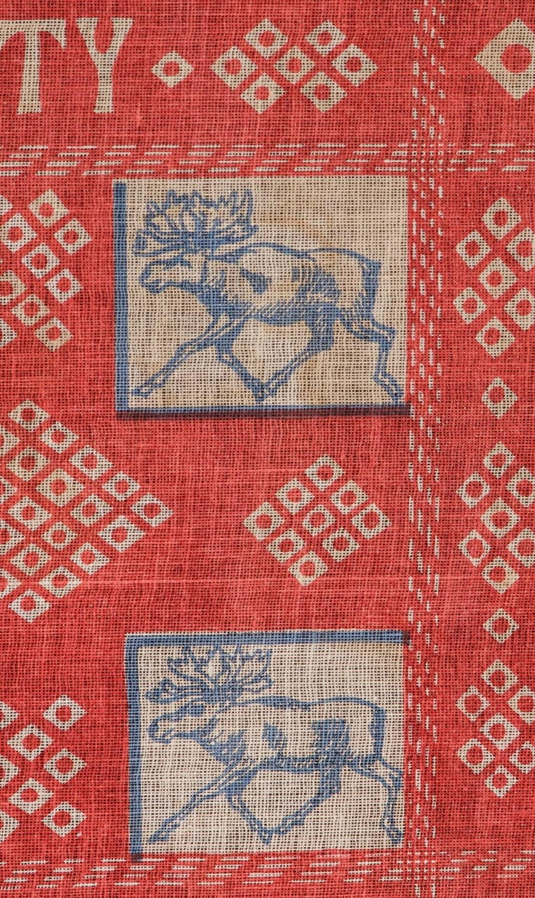 American Unusual and Graphic Kerchief Style Parade Flag from Roosevelt's 1912 Campaign For Sale