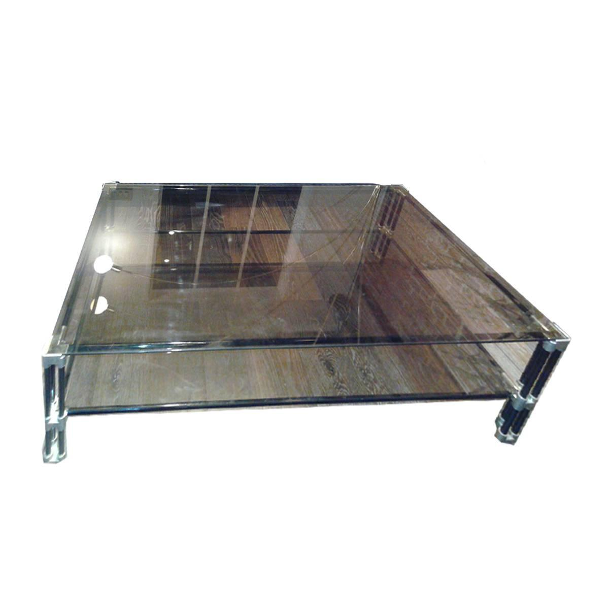 Smoked Glass Coffee Table For Sale At 1stdibs