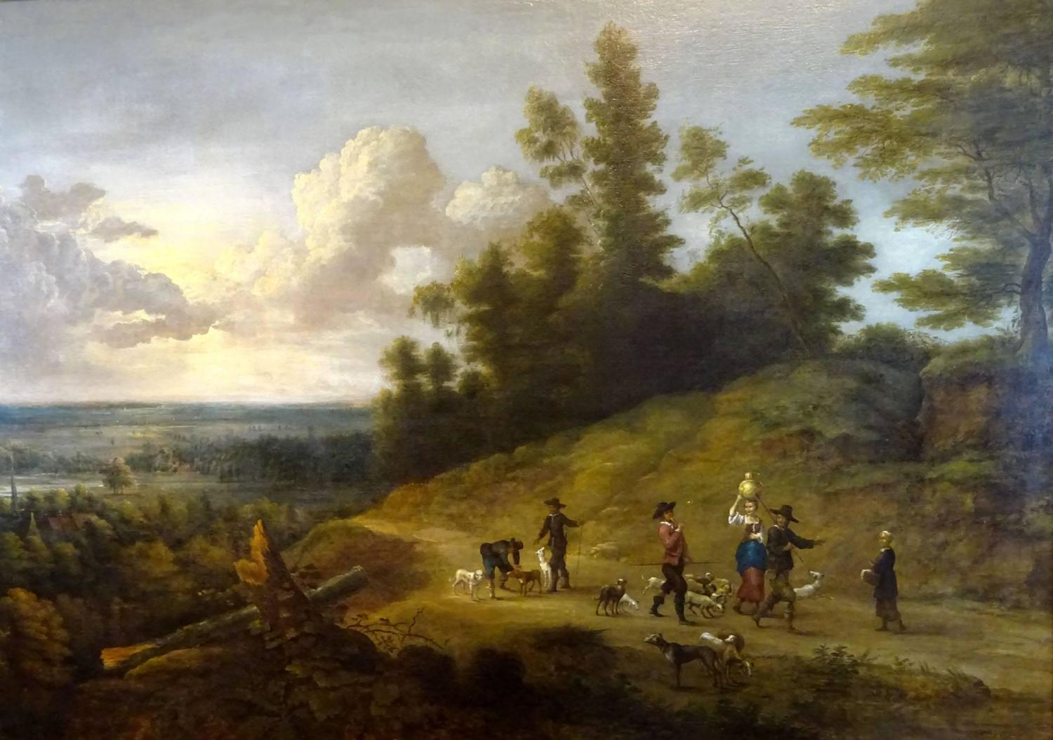 17th Century Dutch Landscape Painting At 1stdibs