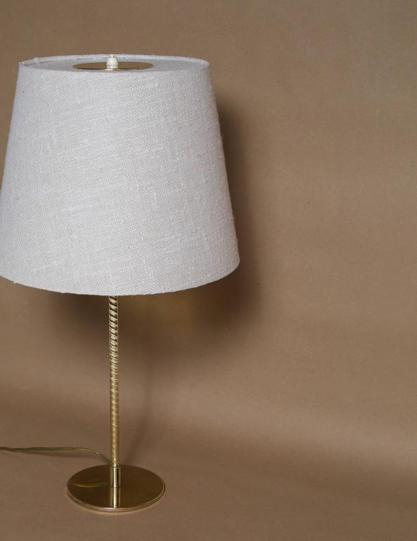 Paavo Tynell, Table Lamp, Model nr. 9205, Taito Oy In Excellent Condition For Sale In Houston, TX