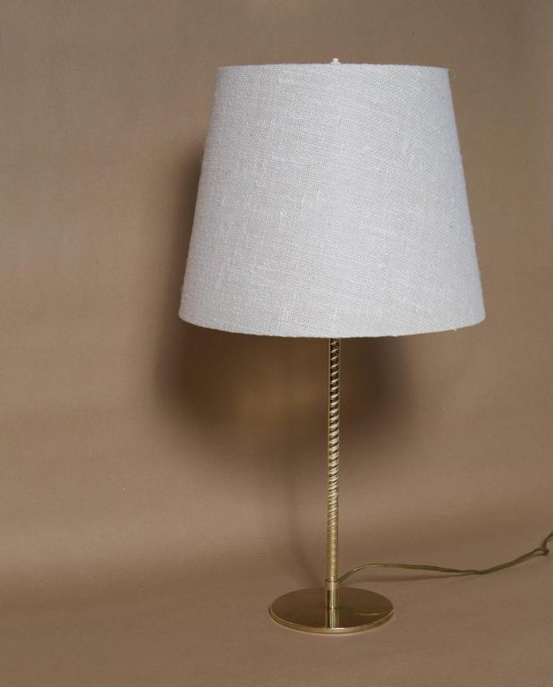 Finnish Paavo Tynell, Table Lamp, Model nr. 9205, Taito Oy For Sale