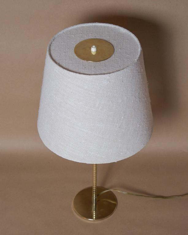 Wool Paavo Tynell, Table Lamp, Model nr. 9205, Taito Oy For Sale