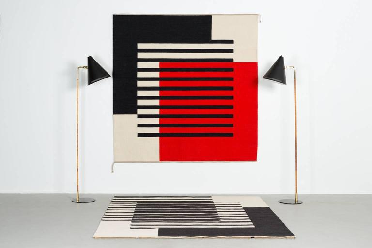 Handwoven by textile artist Ruth Malinowski,