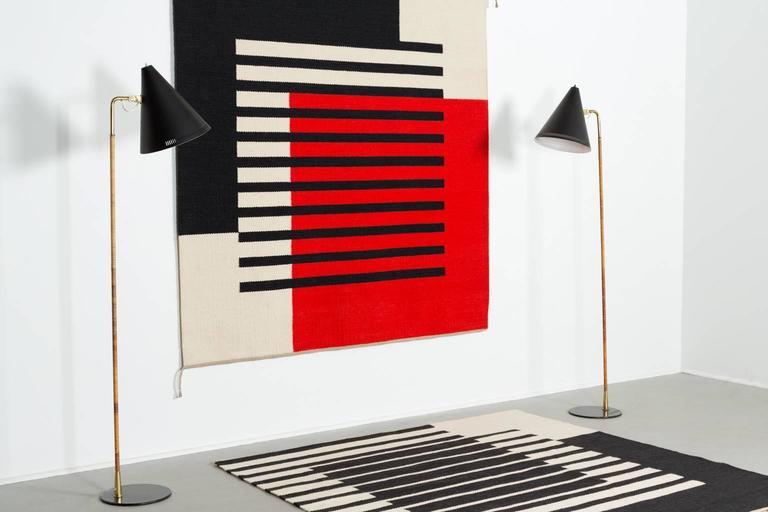 "Ruth Malinowski Large 60"" Textile Art, Signed, 1990 4"