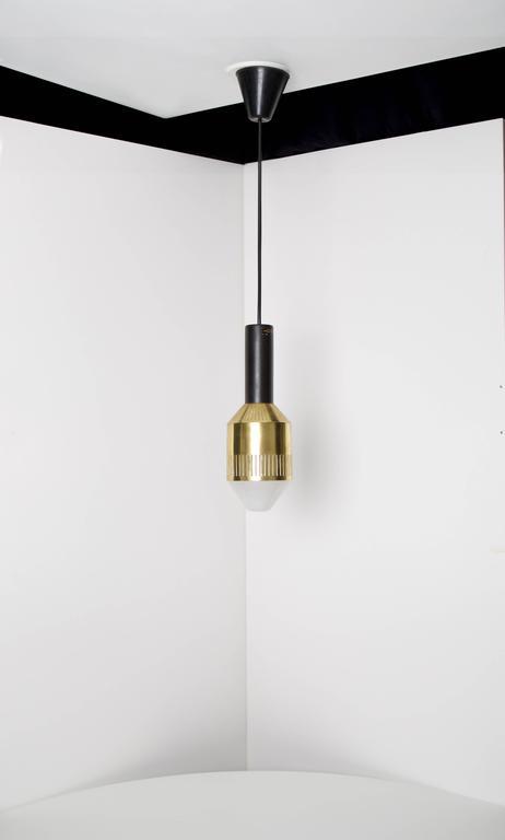 Finnish Tapio Wirkkala, Rare Ceiling Lamp, Idman Oy, Finland, 1959 For Sale