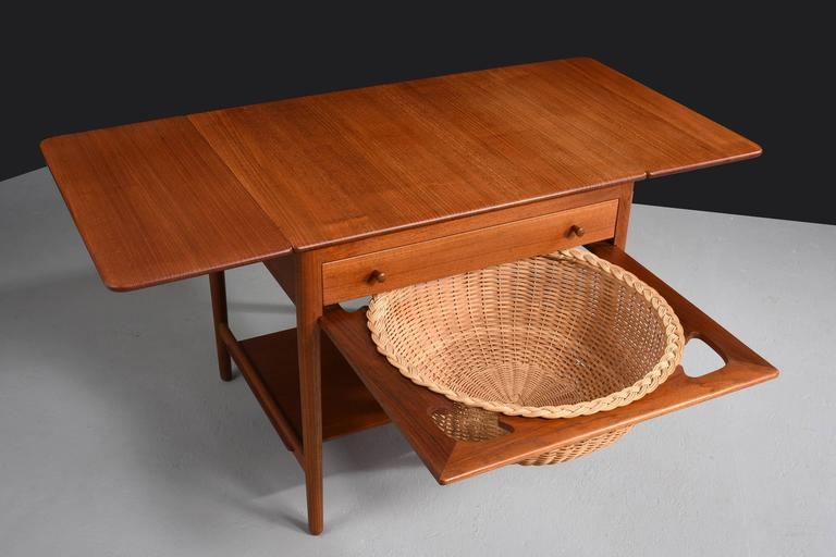 Hans j wegner sewing table model at 33 1960s for sale - Archives departementales 33 tables decennales ...