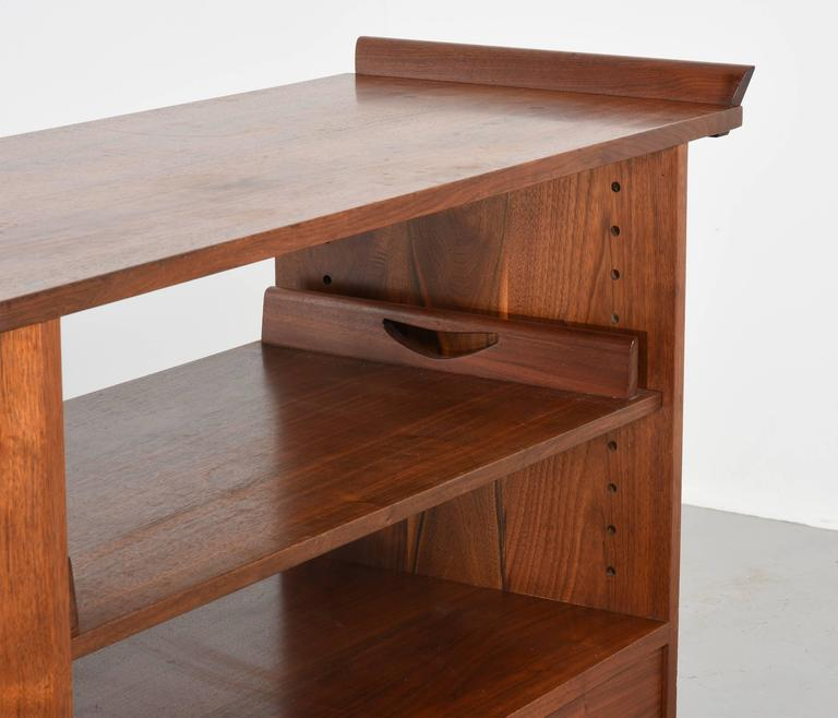 Mid-20th Century George Nakashima Tea or Bar Cart in Walnut, 1965 For Sale