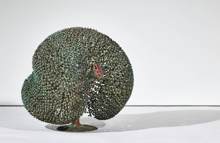 Late 20th Century Large Harry Bertoia Bush Sculpture, 1973 For Sale