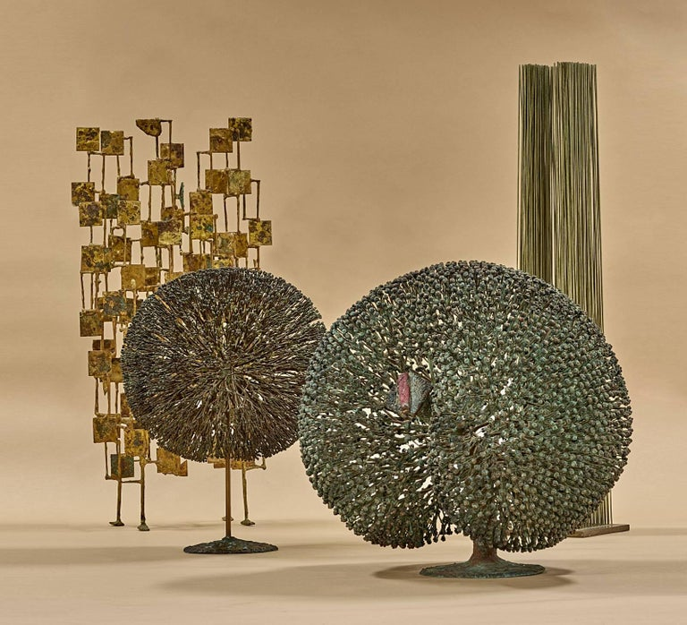 Bronze Harry Bertoia Bush Form, 1968 For Sale