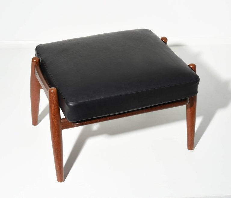 Hans J. Wegner Ottoman for GETAMA, 1950s For Sale 2