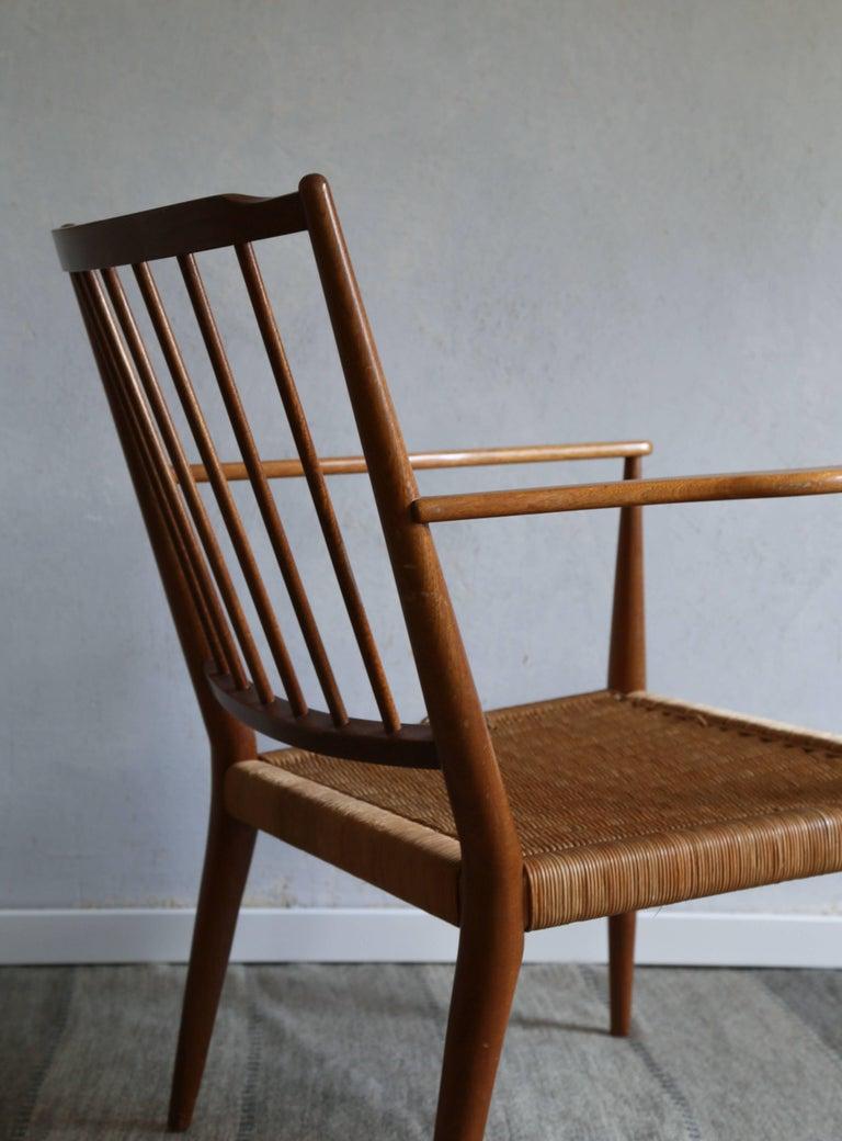 Scandinavian Modern Josef Frank Armchair, 1950s For Sale