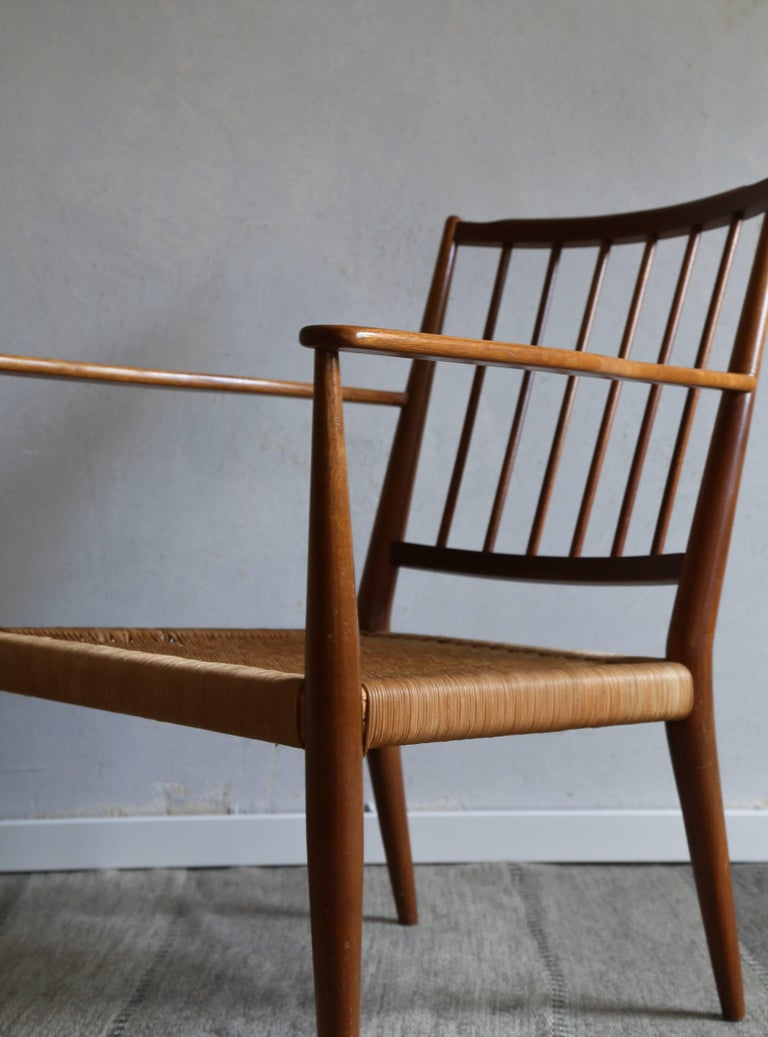 Josef Frank Armchair, 1950s In Excellent Condition For Sale In Houston, TX