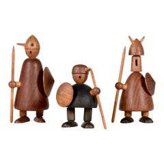 Jacob Jensen Vikings, Set of Three, 1950s