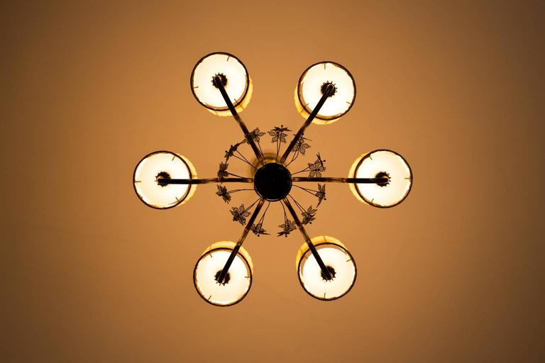 Paavo tynell chandelier model no 9013 for taito oy for sale at 1stdibs finnish paavo tynell chandelier model no 9013 for taito oy for sale aloadofball Image collections