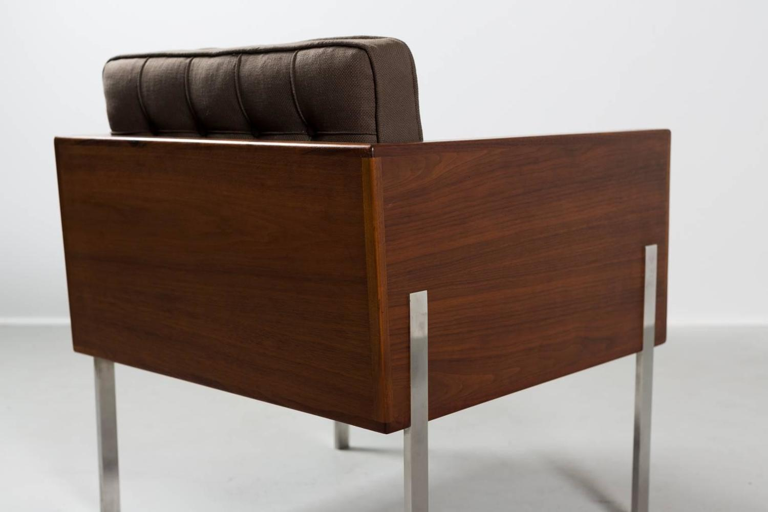 Pair of Harvey Probber Cube Chairs 1960s For Sale at 1stdibs