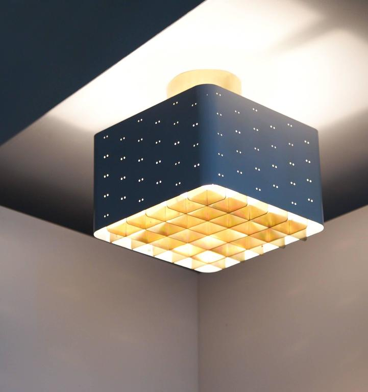 Paavo tynell ceiling light model 9068 for sale at 1stdibs starry sky ceiling light by paavo tynell model 9068 idman oy finland mozeypictures Images
