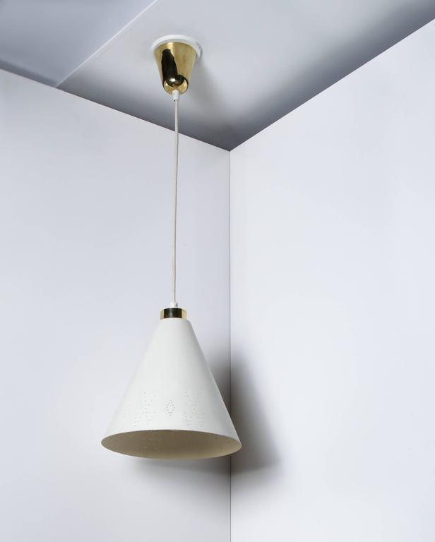 Finnish Paavo Tynell Ceiling Lamp, Model 10129/1 Taito Oy For Sale