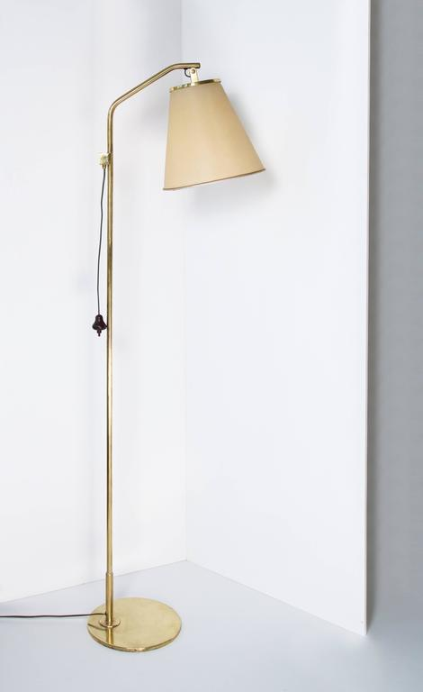 Finnish Paavo Tynell Floor Lamp Model 9613, Taito Oy, 1940s For Sale
