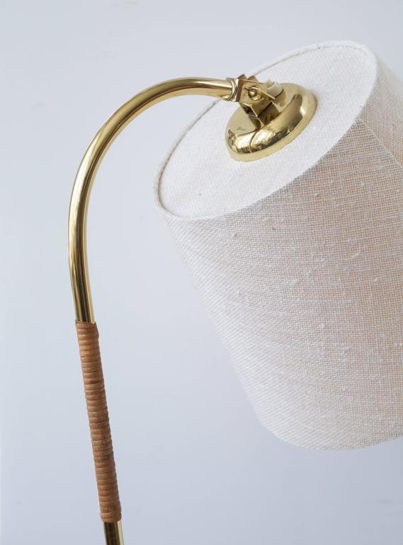 20th Century Paavo Tynell Floor Lamp, Idman Oy, 1950s For Sale