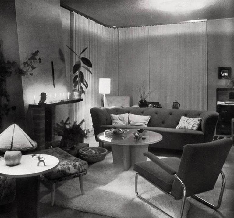 Greta Magnusson-Grossman, Sofa Table, Studio, Sweden, 1930s For Sale 3