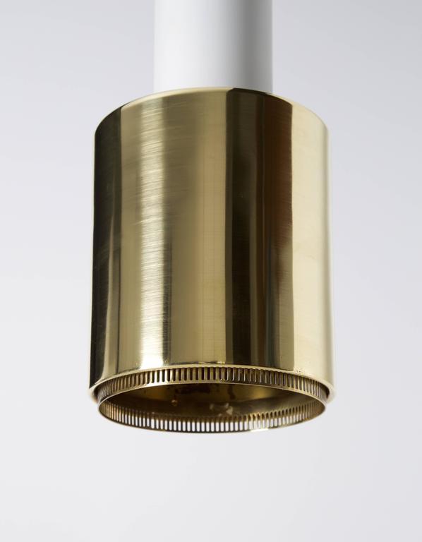 Finnish Early Alvar Aalto Pendant Light, Model A110, 1950s For Sale