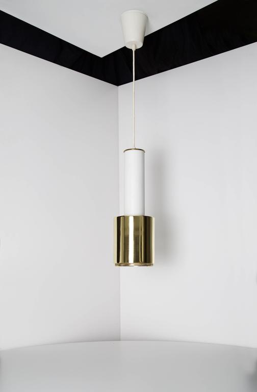 Early Alvar Aalto Pendant Light, Model A110, 1950s In Excellent Condition For Sale In Houston, TX